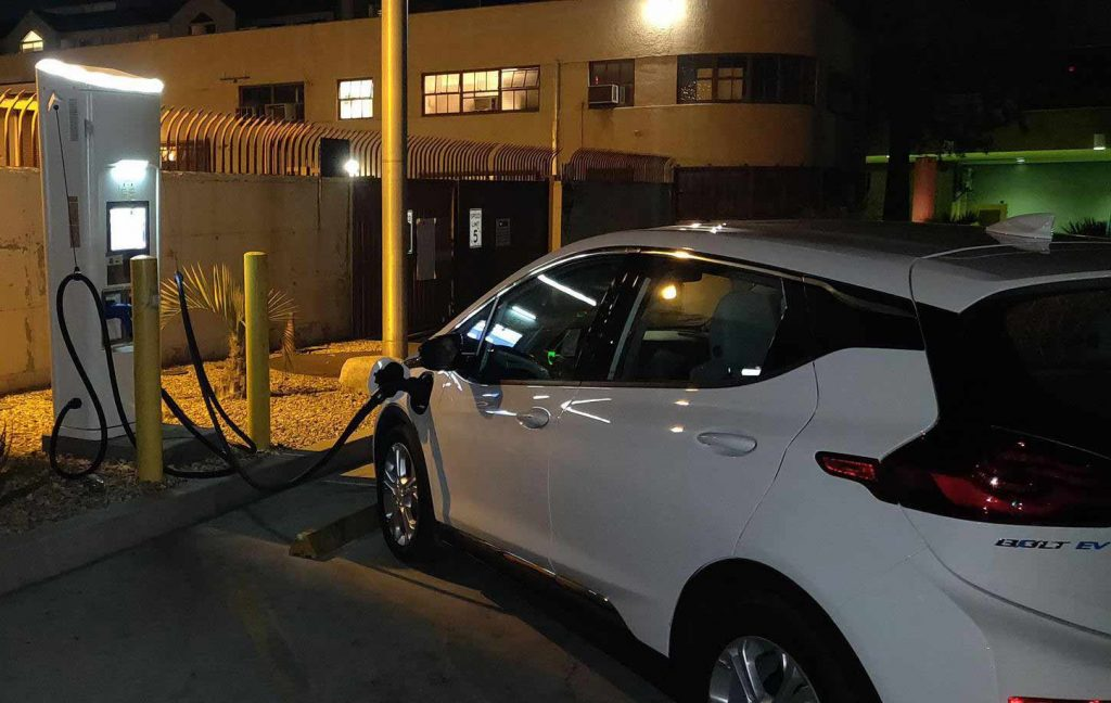 ev charging stations in LADWP