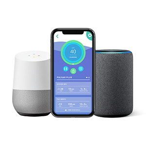 Amazon Alexa and Google Assistant Compatible