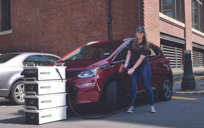 Ultrafast Portable Electric Car Charger-SparkCharge Roadie
