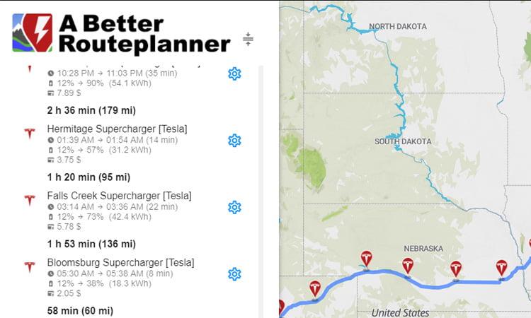Best Tesla Trip Planner Apps